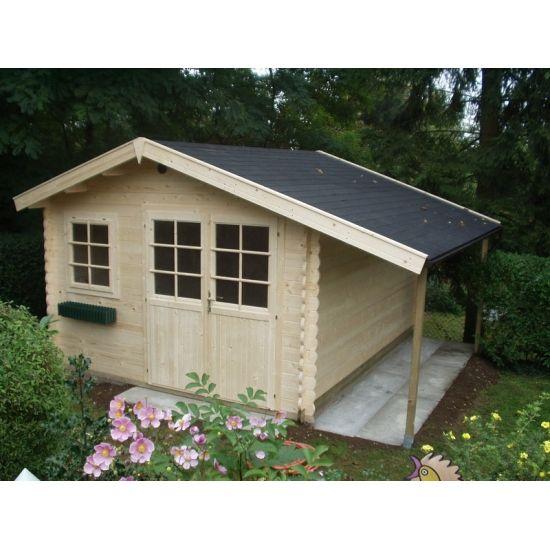 Nell abris de jardin classiques en bois chalet center for Chalet abri de jardin pas cher