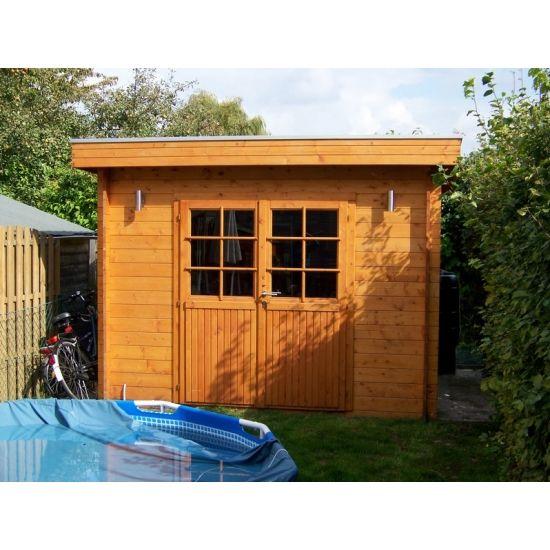 Nym cabanes de jardin modernes en bois chalet center for Cabane en bois moderne