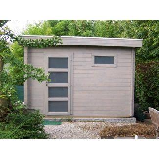 abri de jardin en pvc chalet center. Black Bedroom Furniture Sets. Home Design Ideas
