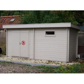 Cabanes de jardin en bois modernes chalet center for Casa home belgique