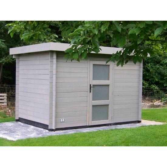 Layla cabanes de jardin modernes en bois chalet center for Cabane jardin 10m2