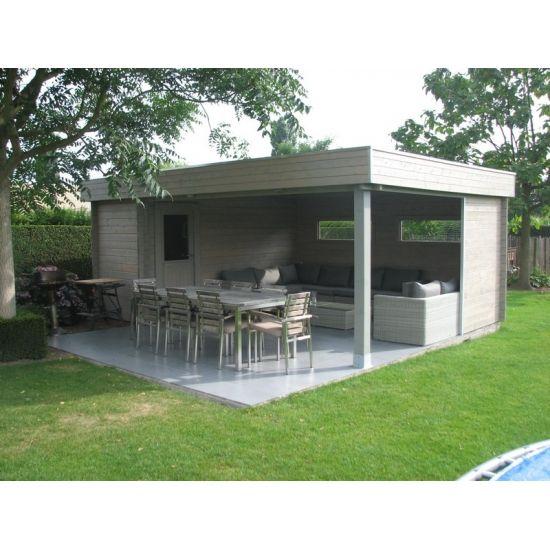 Guyana cabanes de jardin modernes en bois chalet center for Cabane en bois moderne