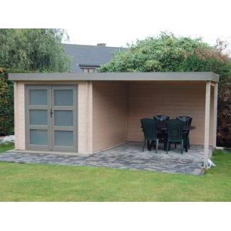abris pool house piscine en bois chalet center. Black Bedroom Furniture Sets. Home Design Ideas