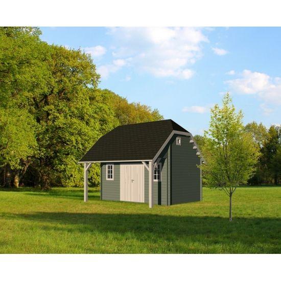 nelson abris de jardin cottage et country en bois chalet center. Black Bedroom Furniture Sets. Home Design Ideas