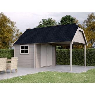 Chalet de jardin au prix avantageux chalet center for Jardin style cottage anglais