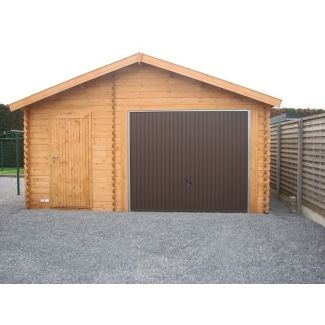 Construire un garage en bois en kit chalet center for Garage volkswagen le plus proche