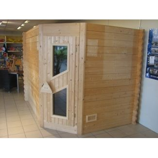 sauna ext rieur pentafive saunas en bois chalet center. Black Bedroom Furniture Sets. Home Design Ideas