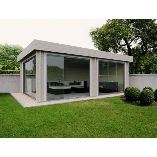 Silko cabanes de jardin modernes en bois chalet center - Sauna exterieur jardin moderne ...