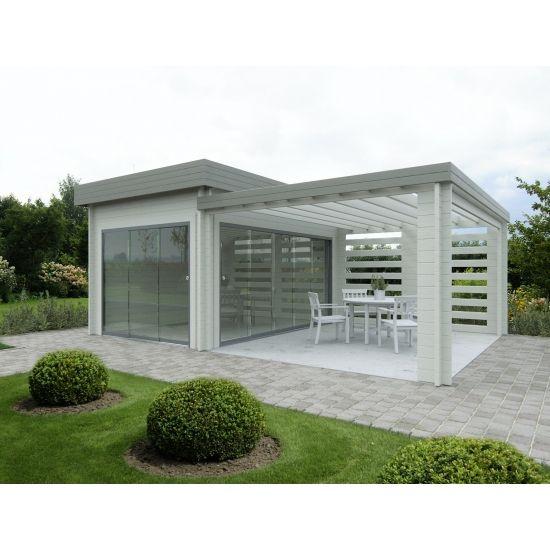 Lautrec cabanes de jardin modernes en bois chalet center for Chalet bois moderne