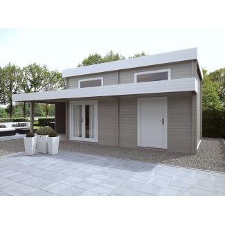 Chalet de jardin moderne chalet center for Chalet jardin moderne