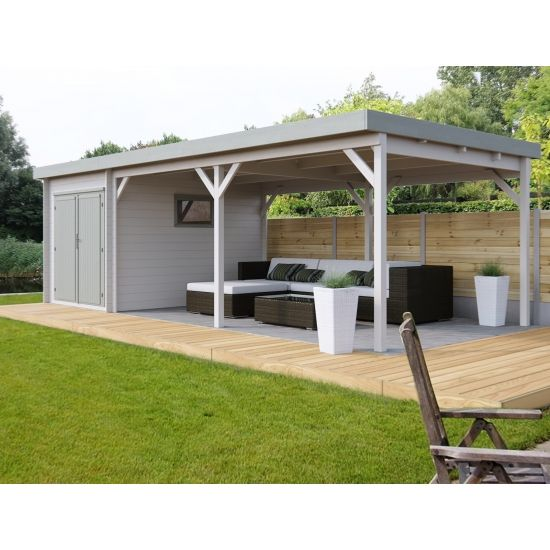 Stefana cabanes de jardin modernes en bois chalet center for Cabane en bois moderne