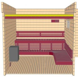 Grandcasa saunas Sauna Zalaka