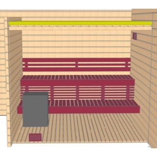 Grandcasa saunas Sauna Mohac
