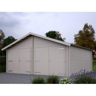 Construire Sont Garage Of Construire Un Garage En Bois En Kit Chalet Center