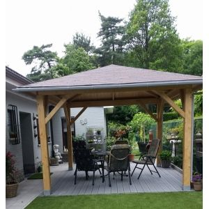 Pergolas bois - Tonnelles de jardin en bois | Chalet Center